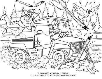 hunting coloring pages Coloring Pages   Hunter Ed Adventures hunting coloring pages
